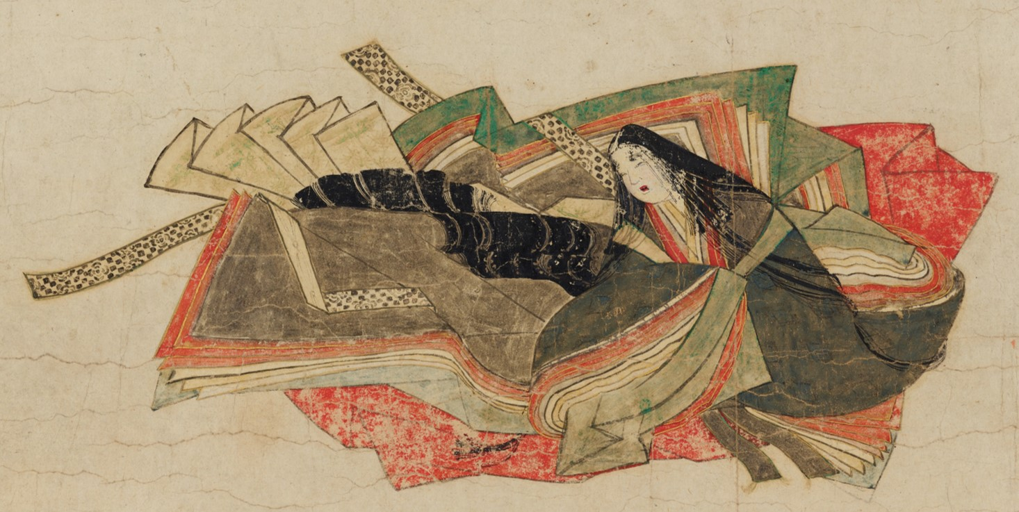 「佐竹本三十六歌仙絵巻」の画像検索結果